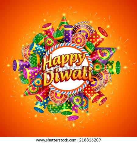 vector happy diwali background