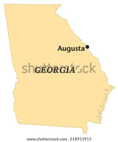 augusta  georgia locate map