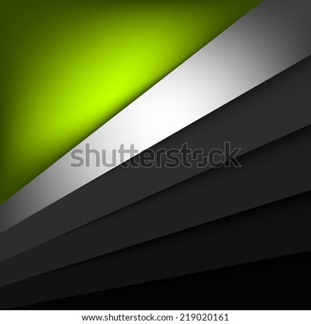 green paper layer background