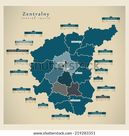 modern map   zentralny ru
