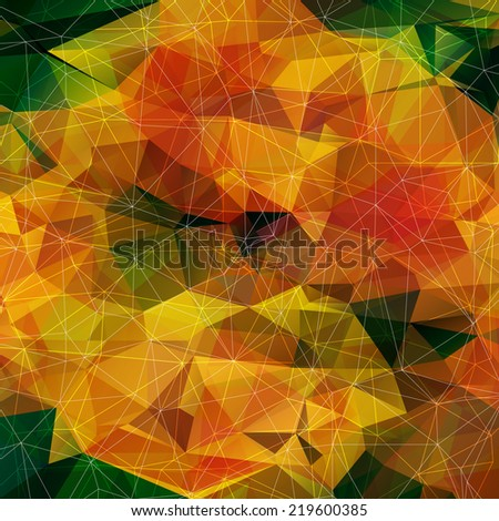 abstract colored bright autumn
