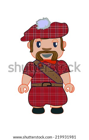 little scot with traditional