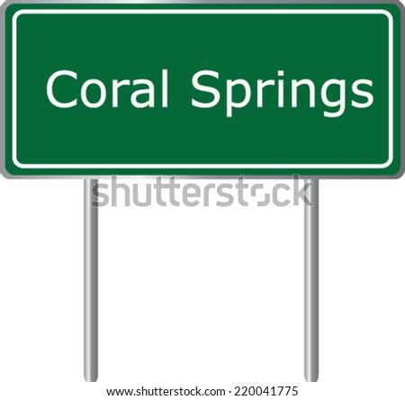 coral springs  florida  road
