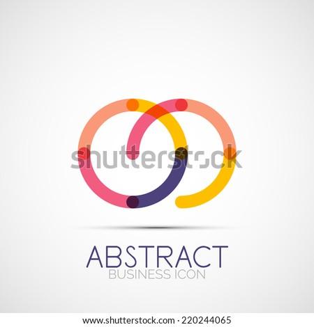 line design logo  geometric