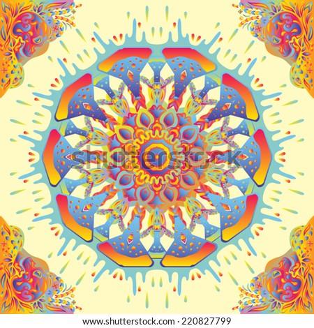 psychedelic kaleidoscopic