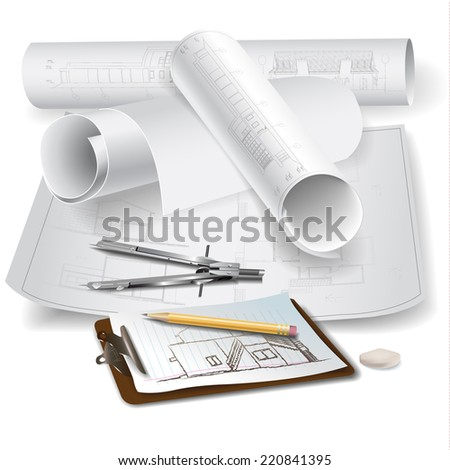 architectural background with