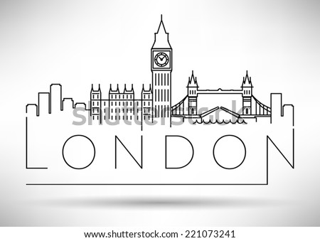 london city skyline modern