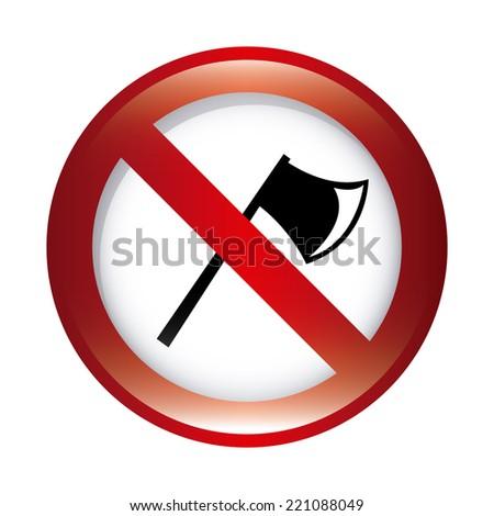 forbidden ax  graphic design