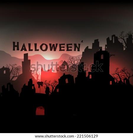 horror halloween background