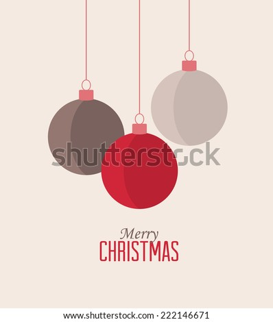 retro decorative christmas