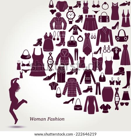 women's fashion background