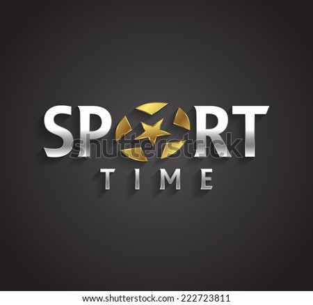 vector graphic silver and gold