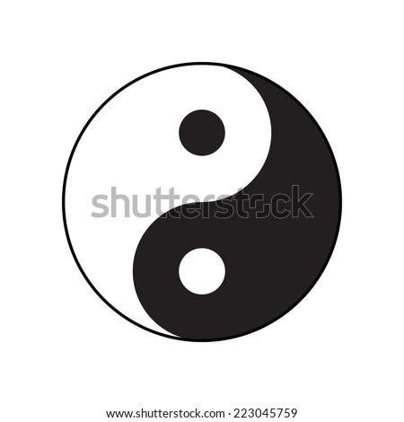ying yang symbol of harmony and