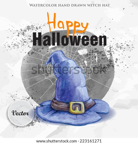happy halloween party design on