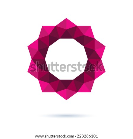 abstract decorative geometric