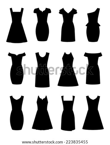 little black dresses in twelve