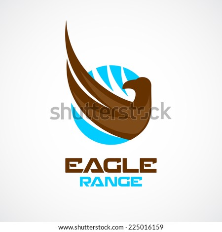 eagle wing and head logo