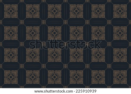 background thai art pattern