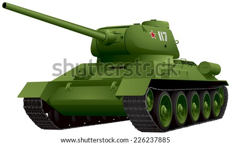 t 34 ww2 battle tank in