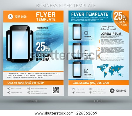 Vector Product Flyer Templates Free Vector Download  Free