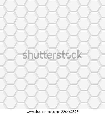 white 3d geometric pattern