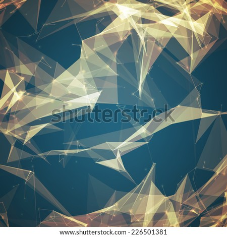 abstract vector mesh background