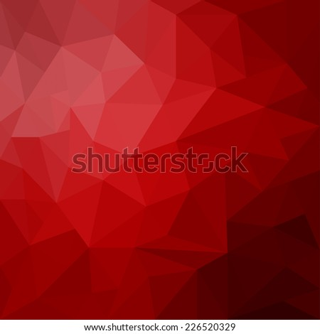 abstract red geometrical