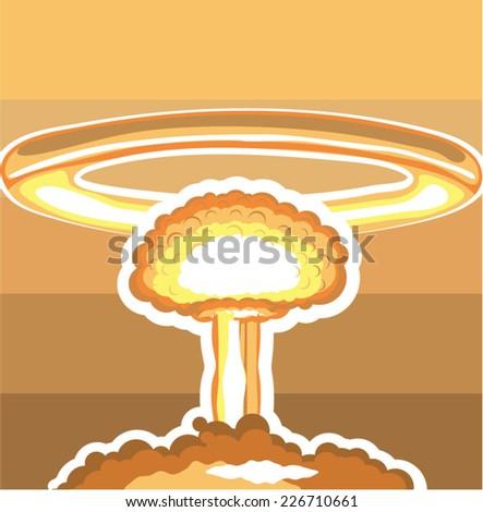nuclear explosion vector