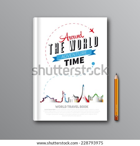 world travel book template