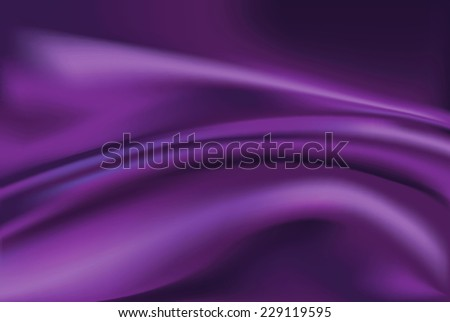 vector of violet silk fabric