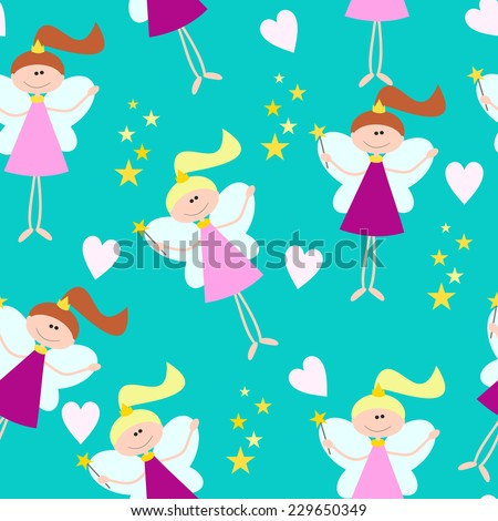 cute seamless pattern for