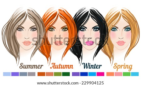 seasonal color types