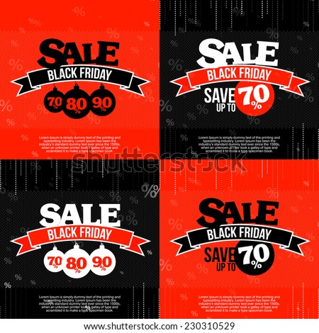 set of 4 black friday sale