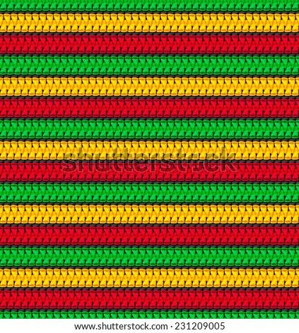 seamless pattern in rasta