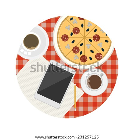 flat vector icon for business