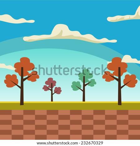game landscape background