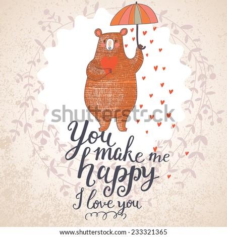 you make me happy concept