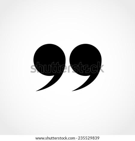 quotation mark symbol double