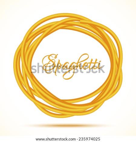 realistic twisted spaghetti