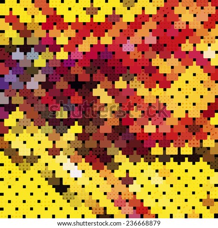 chainmail mosaic
