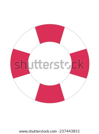 vector buoy icons