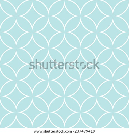 diamonds and circles pattern