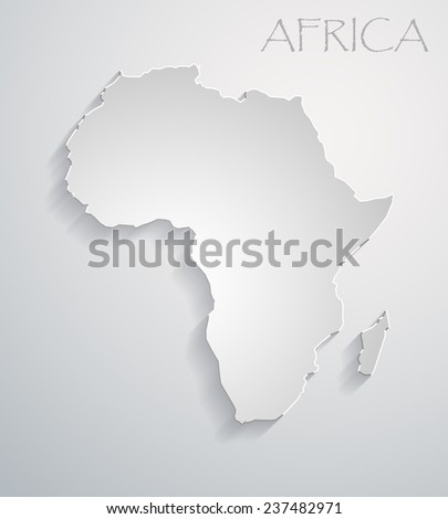 image of a vector flat african