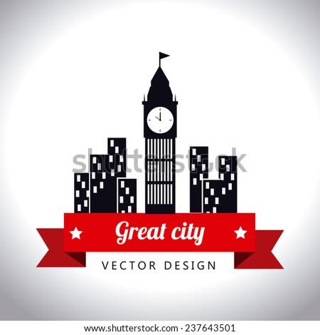 urban design over white