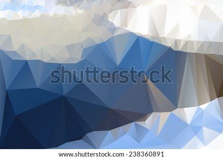 iceberg  sea  lake triangle