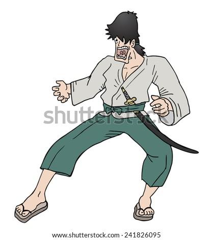funny samurai