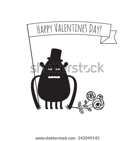 vector greeting card for