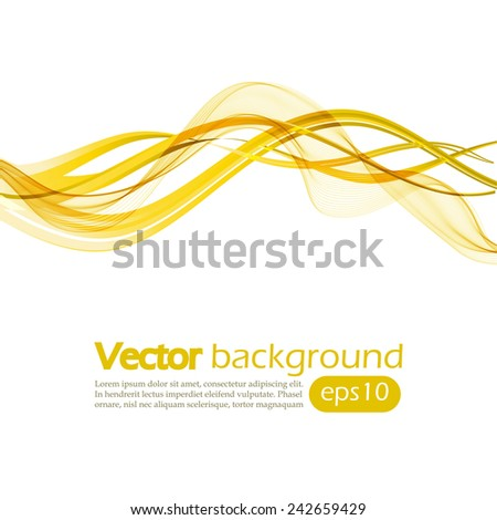 abstract background with yellow