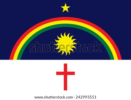 pernambuco flag  brasil state