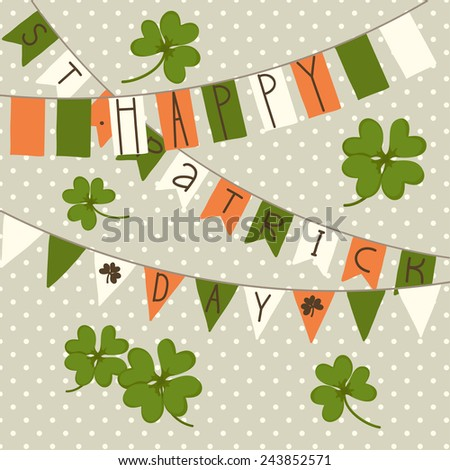 card for st patrick's day